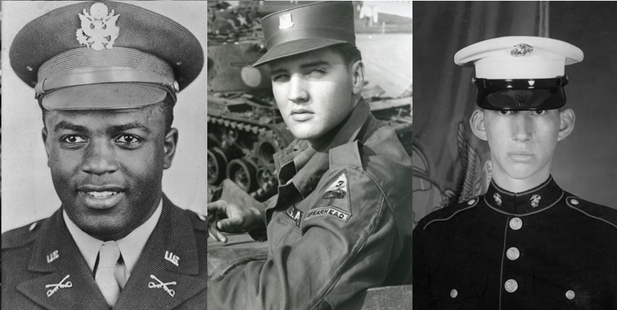 8 More Celebrities Who Served